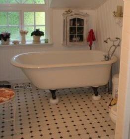 Integral Constrcution Bathroom Tile
