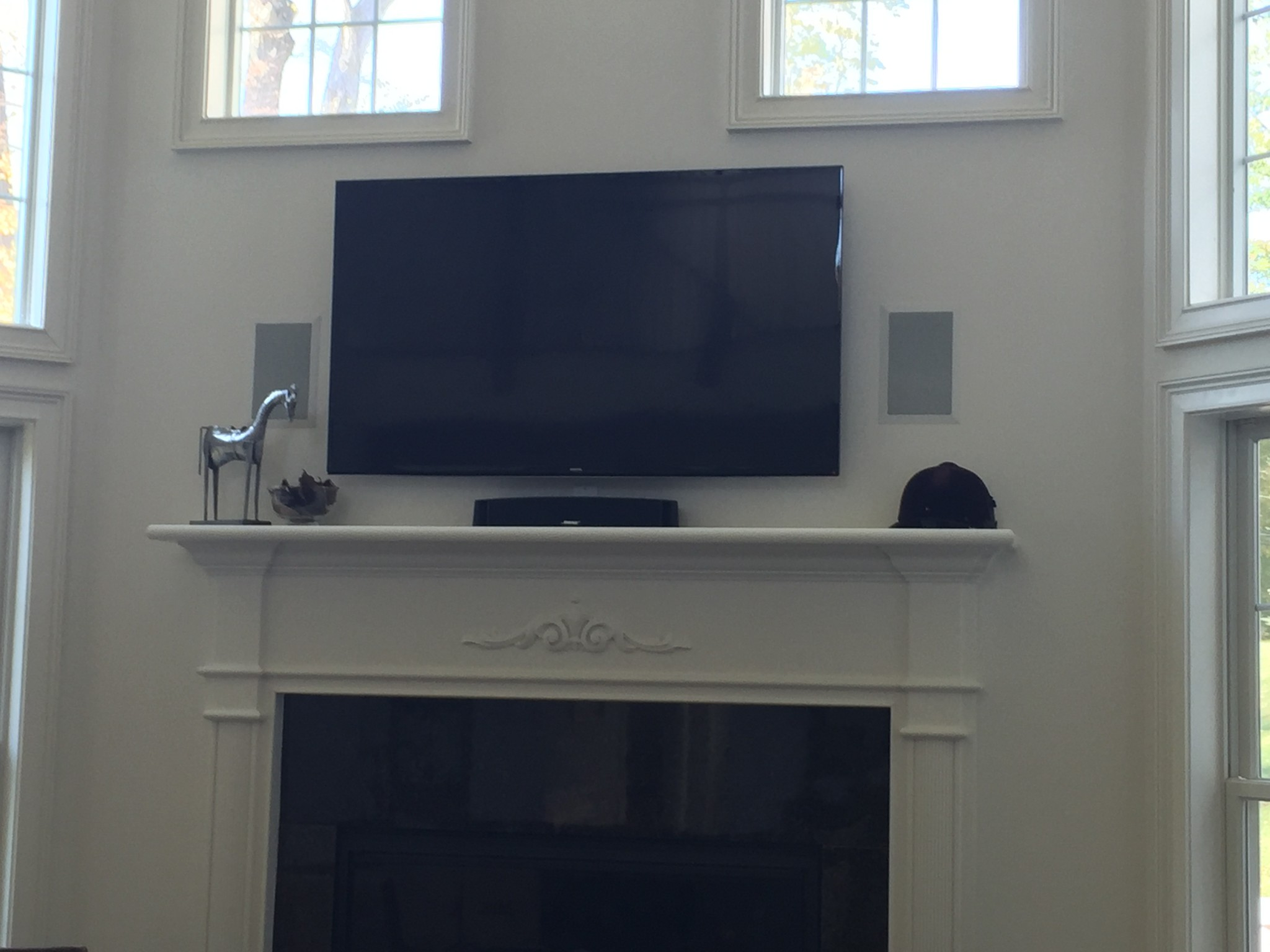 Photos Of Tv Mounted Over Fireplace Tv Mounting Gallery Integrated Tech Solutions