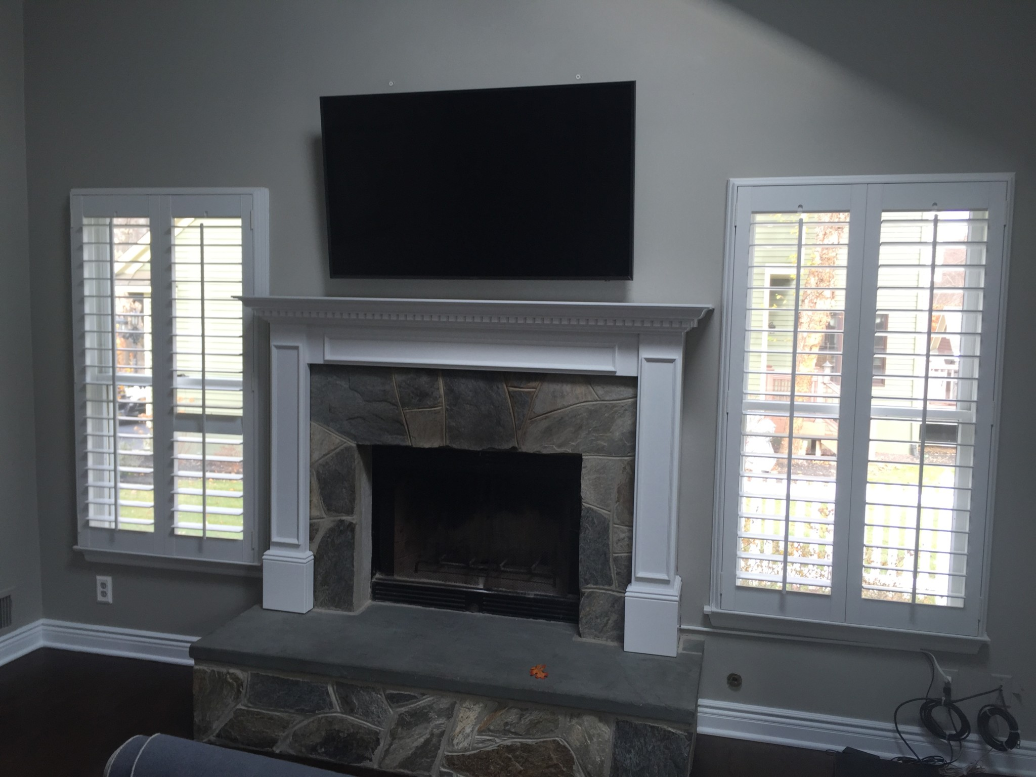 Fireplace Tv Mount Tv Mounting Gallery Integrated Tech Solutions