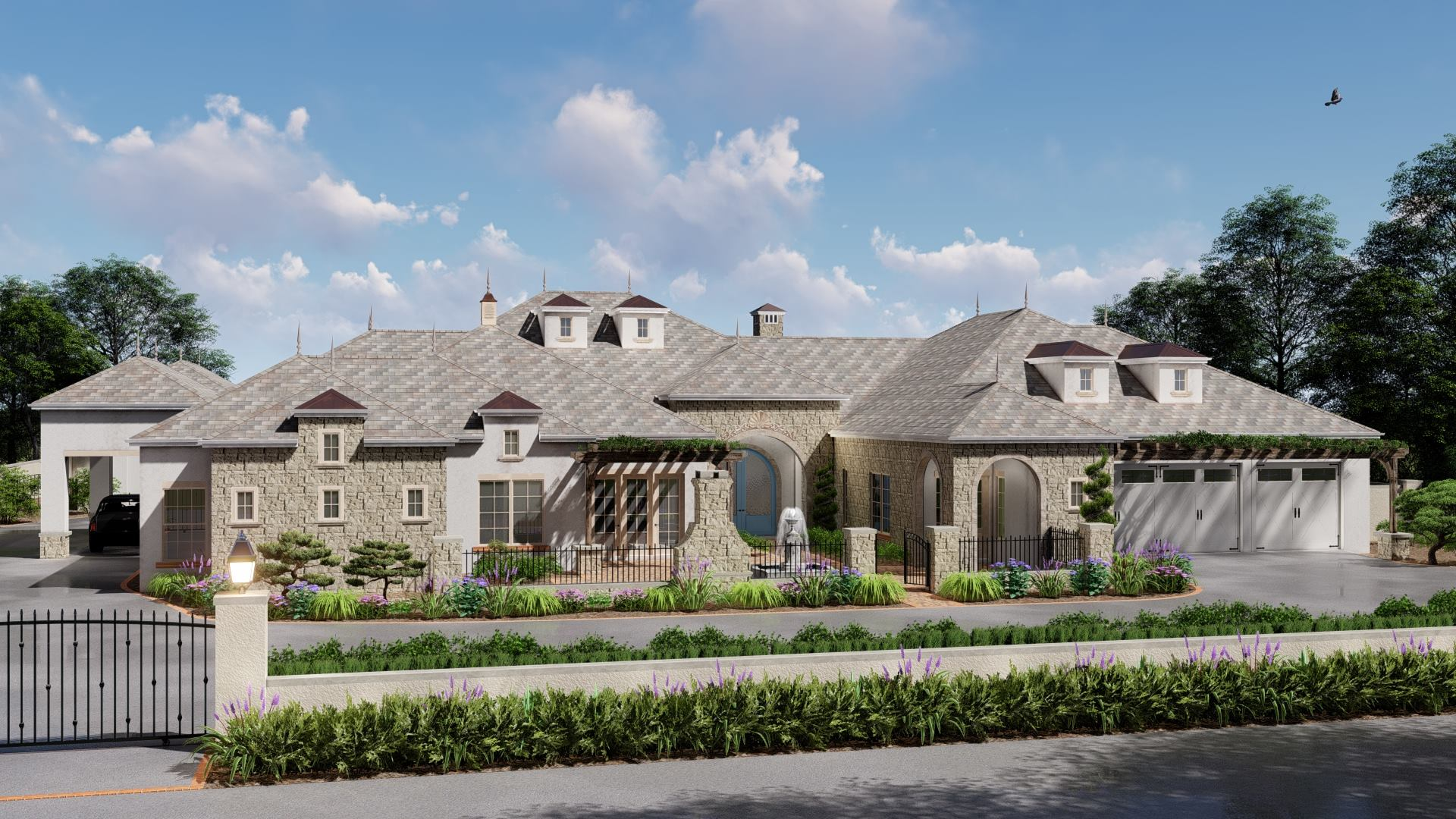 Modern French Farmhouse Exterior Modern French Farm Coming Summer 2019 Integrity Luxury Homes