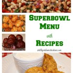 Superbowl Menu with Recipes at intelligentdomestications.com