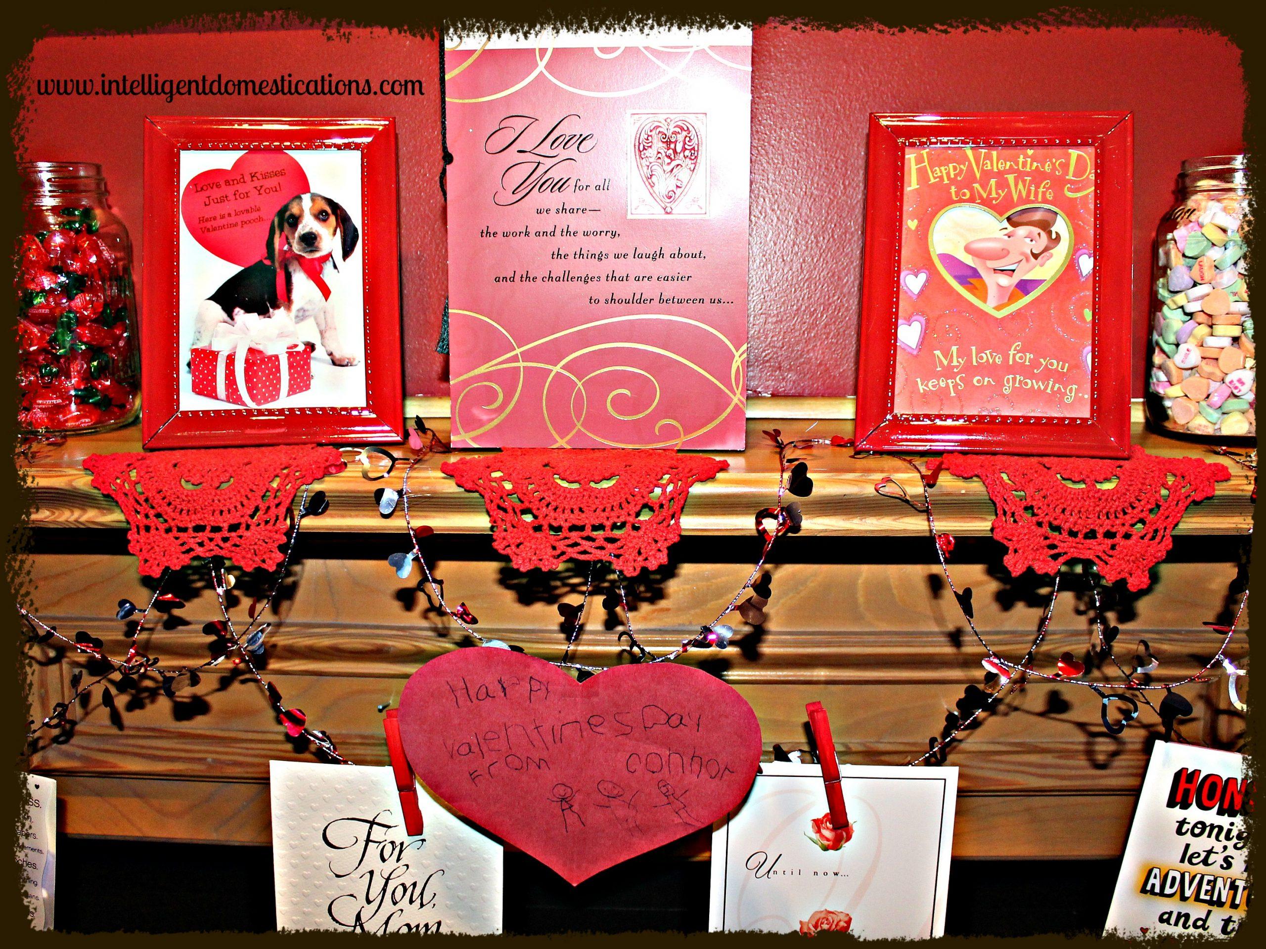 Valentine Mantlescape Close Up intelligentdomestications.com