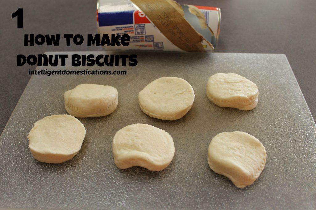 How to Make Donut Biscuits by Intelligentdomestications.com