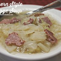 Southern Style Cabbage Soup