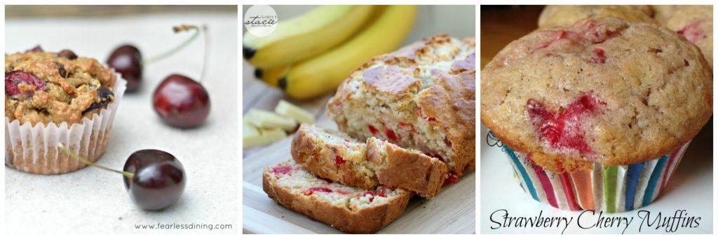 3 Cherry Bread Recipes found at intelligentdomestications.com