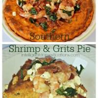 Southern Shrimp & Grits Pie