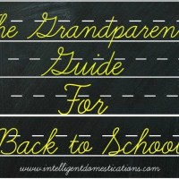 The Grandparents Guide for Back To School