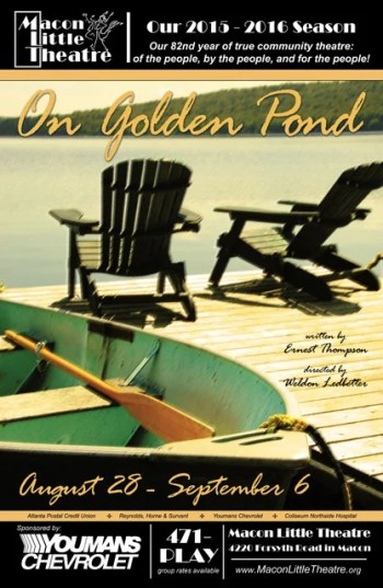 On Golden Pond at Macon Little Theatre