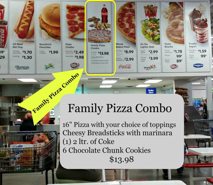 Order your Sam's Club Family Pizza Combo in the Cafe.intelligentdomestications.com