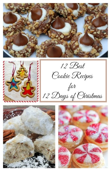 12 Best Cookie Recipes for 12 Days of Christmas