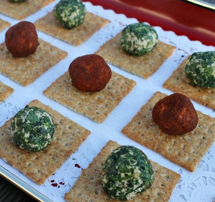 Easy Recipes for Mini Cheese Balls.www.intelligentdomestications.com