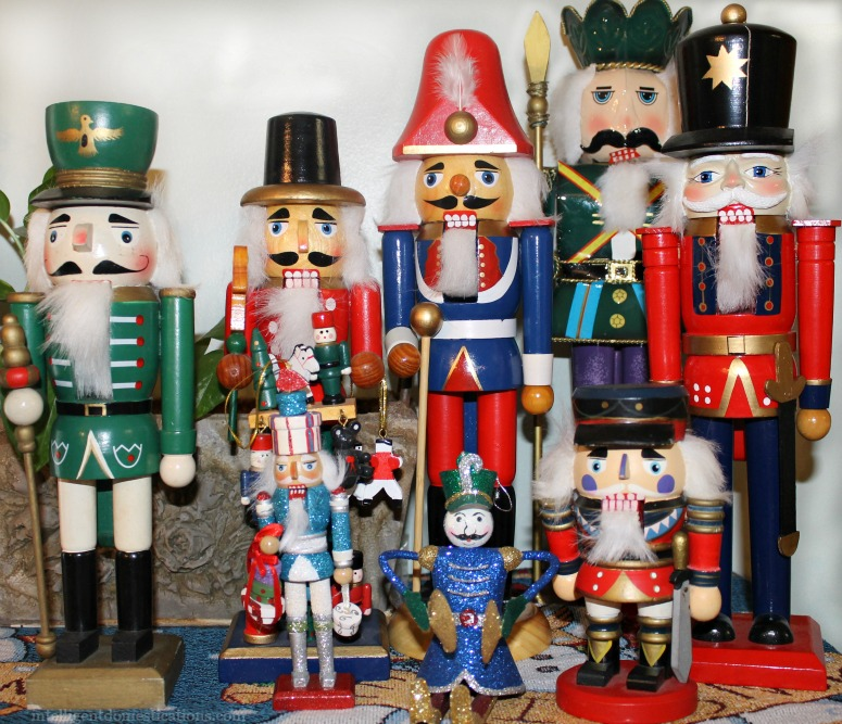 Nutcracker Collection. Christmas Home Tour 2015.intelligentdomestications.com