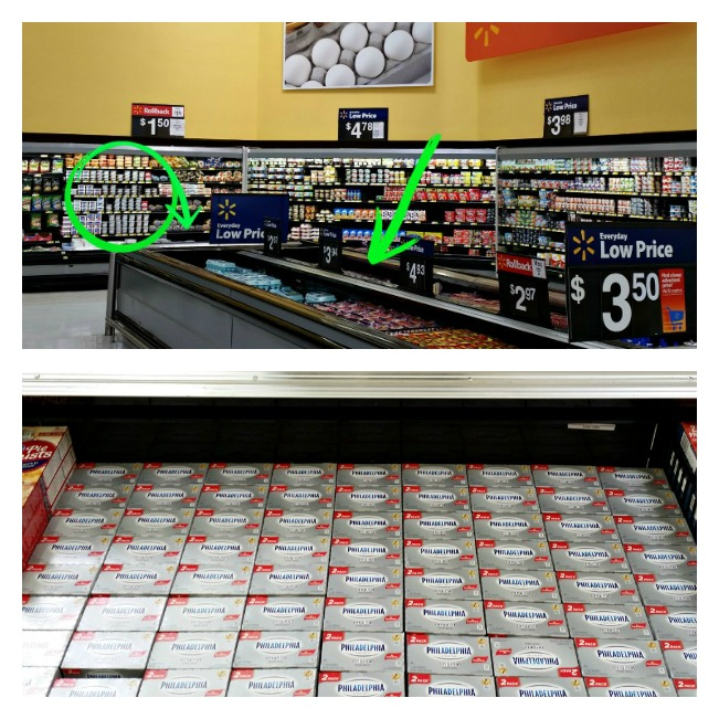 Where to find the Kraft Cream Cheese in Walmart 651x651.intelligentdomestications.com