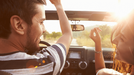 Go on a long drive together
