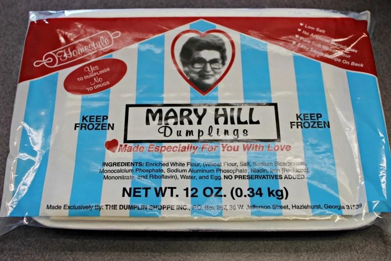 Mary Hill frozen dumplings taste like homemade.photo credit Shirley Wood of intelligentdomestications.com