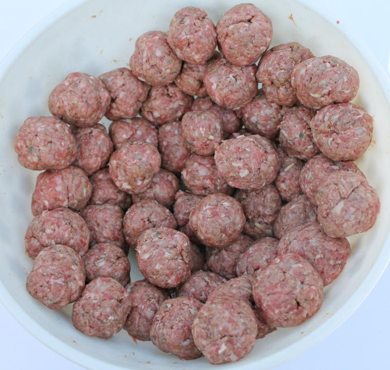 Shape into meatballs