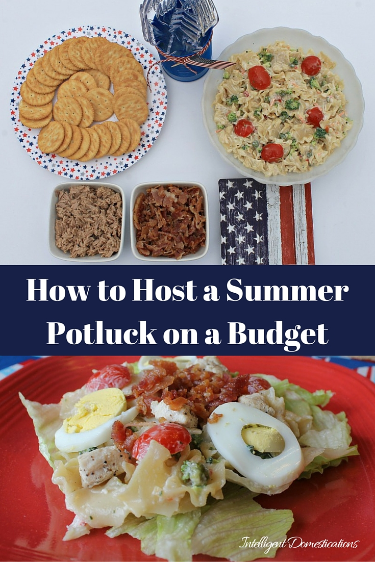 How to Host a Summer Potluck