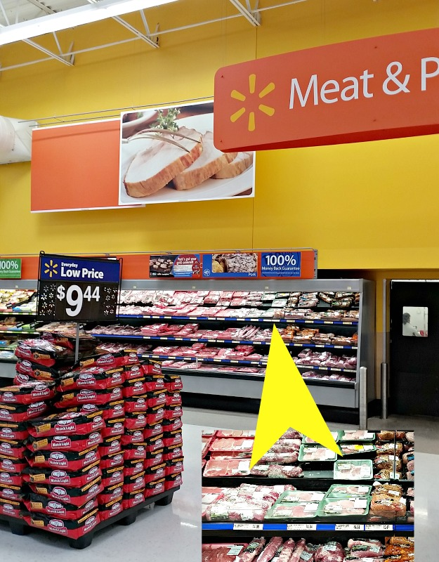 Find Smithfield All Natural Pork products in the meat counter at Walmart