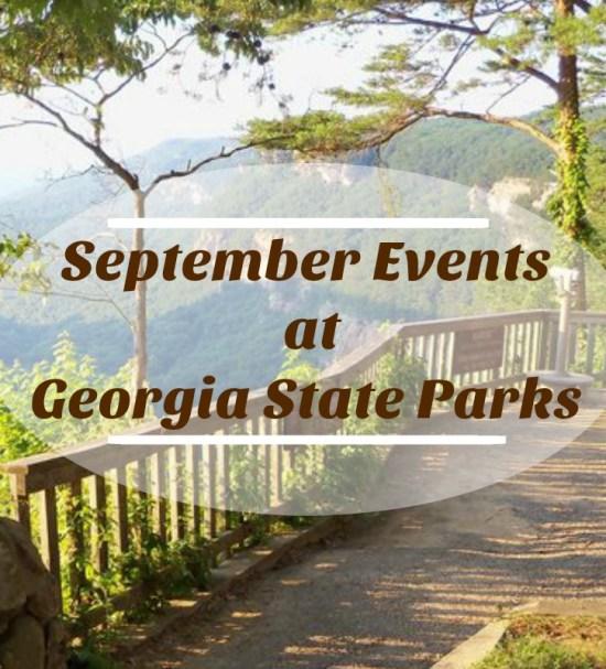 Georgia State Parks September Events