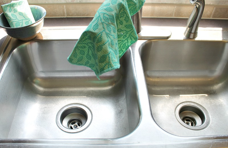 Hang over faucet is the easiest way