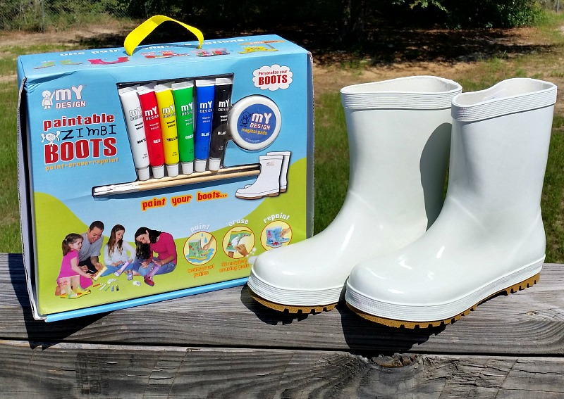 So excited to get the My Design Paintable Rain Boots in the mail