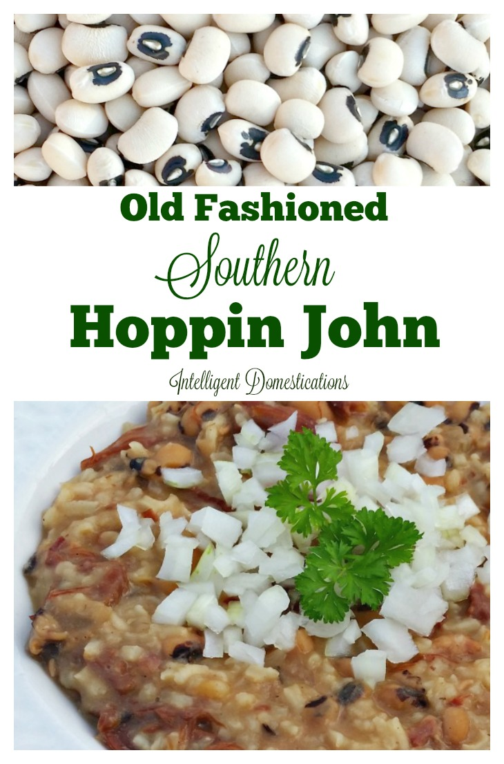 My Old Fashioned Southern Hoppin John recipe is just like Momma made which was just like Grandma made. It's only 3 ingredients and loaded with flavor and stick to the ribs goodness