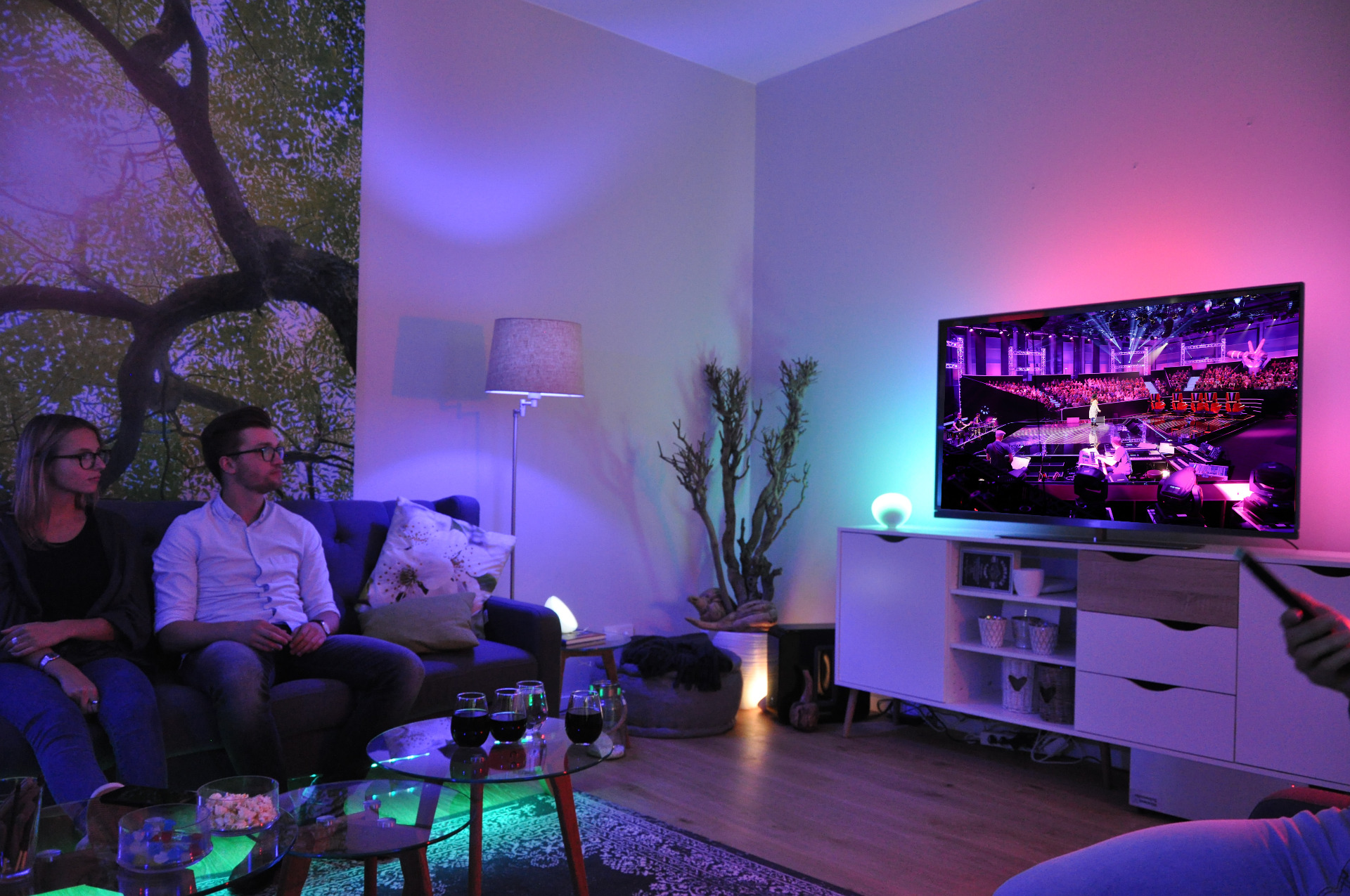 "Hue Lampen Musik Philips Hue Und ""the Voice Of Germany"""