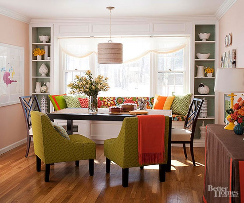 Better Homes And Gardens A Dining Room Chic Home Office