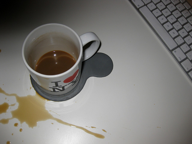 How to Overcome Embarrassment: Don't Cry over Spilled Coffee