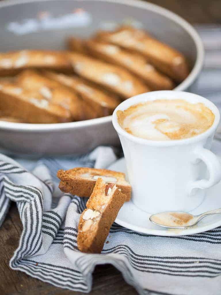 Making Biscotti Italian Style Recipe With Coffee