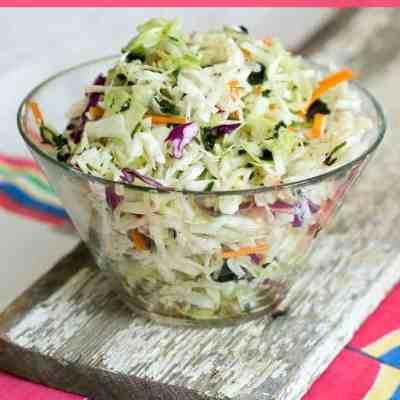 Mexican Coleslaw Salad