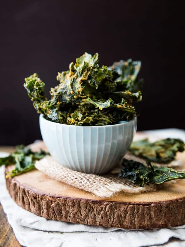 Spicy Nacho Kale Chips