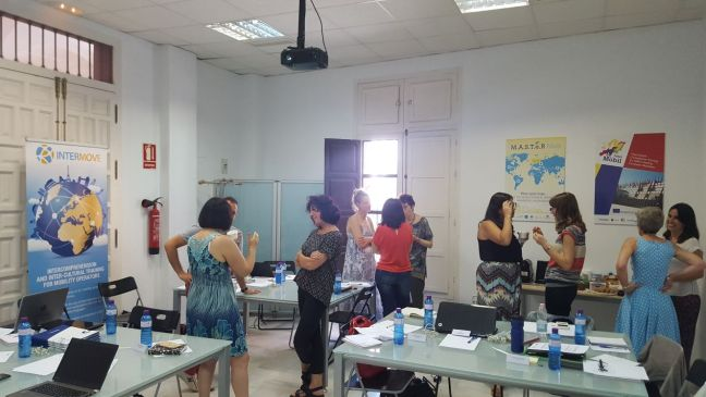 Collaborative learning workshop in Seville- INTERMOVE