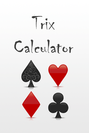 Trix Calculator splash page screenshot