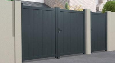 Portail Aluminum | Gamme Semi-Moderne