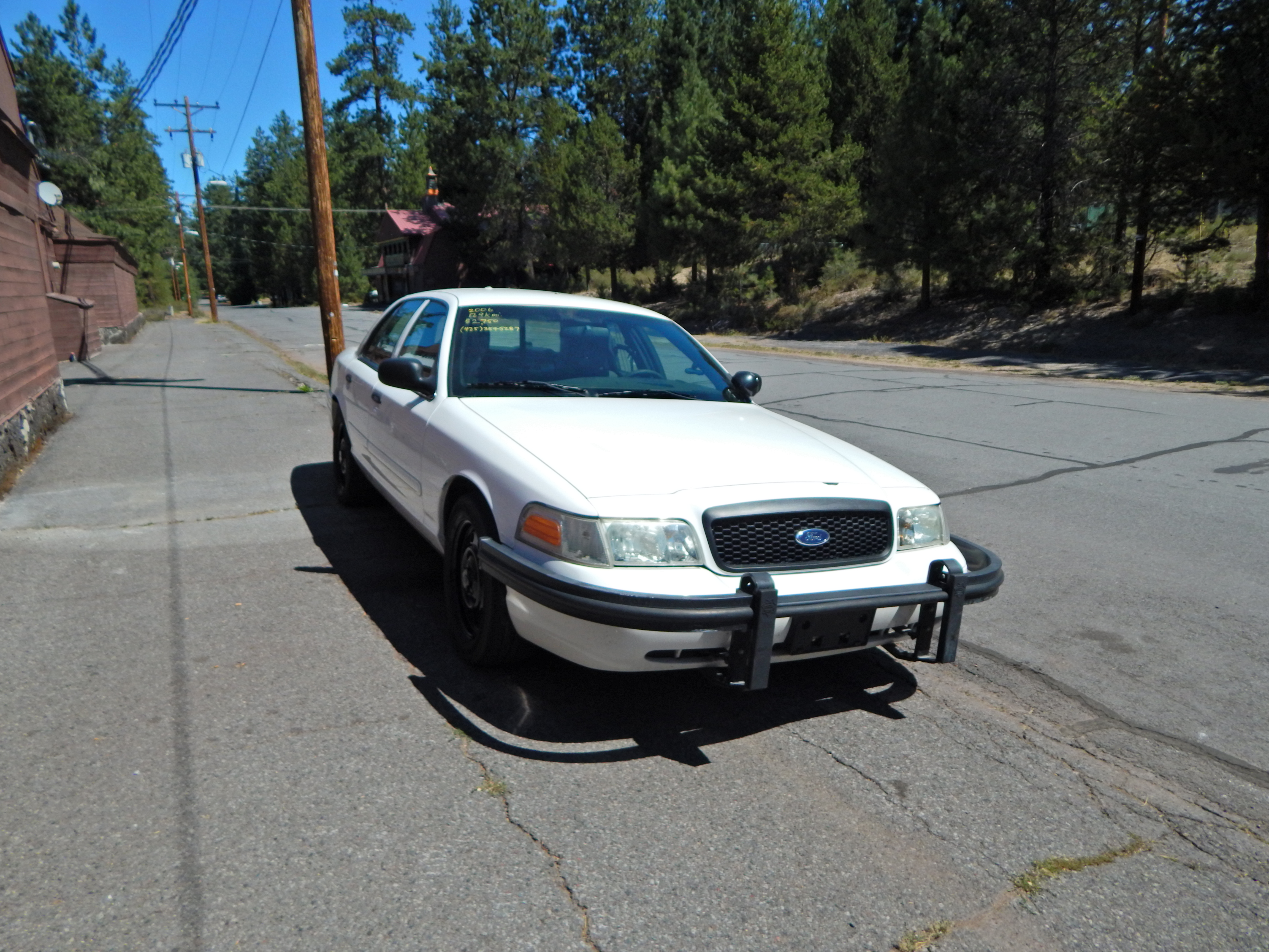 2006 ford crown victoria p71 engine