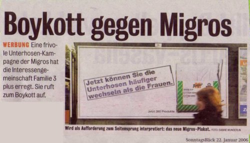 Boykott gegen Migros - Missverständnisse durch die Sprache auch im Recruiting