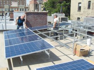 Roof top Solar Install