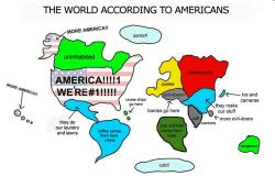 What Americans are first taught about the world as children. This ...
