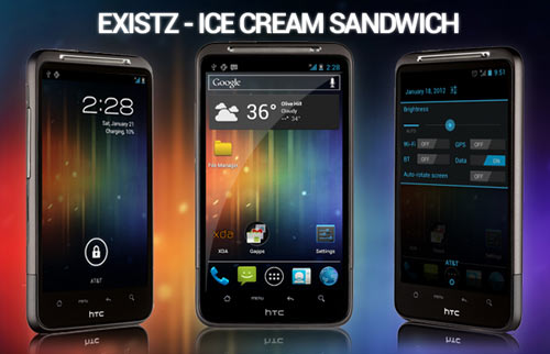 Install ICS Android 4.0.4 Firmware On HTC Inspire 4G
