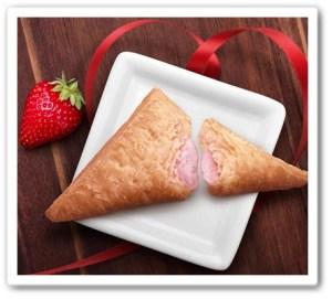 三角いちごチョコパイ