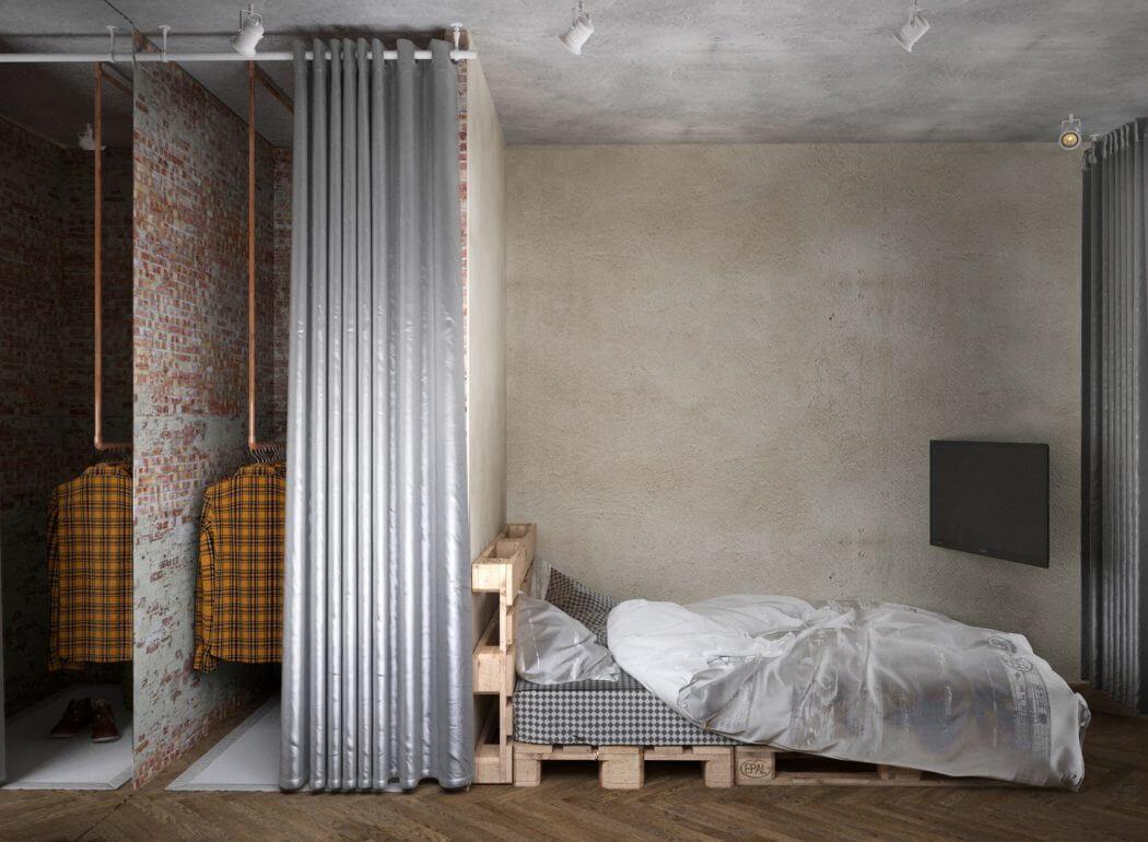 Industriele Loft Woonkamer : Inrichting kleine woonkamer industrieel scandinavisch duplex