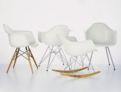 Vitra Eames Plastic Side Chair Dsr Eames Stoel | Interieur Inrichting