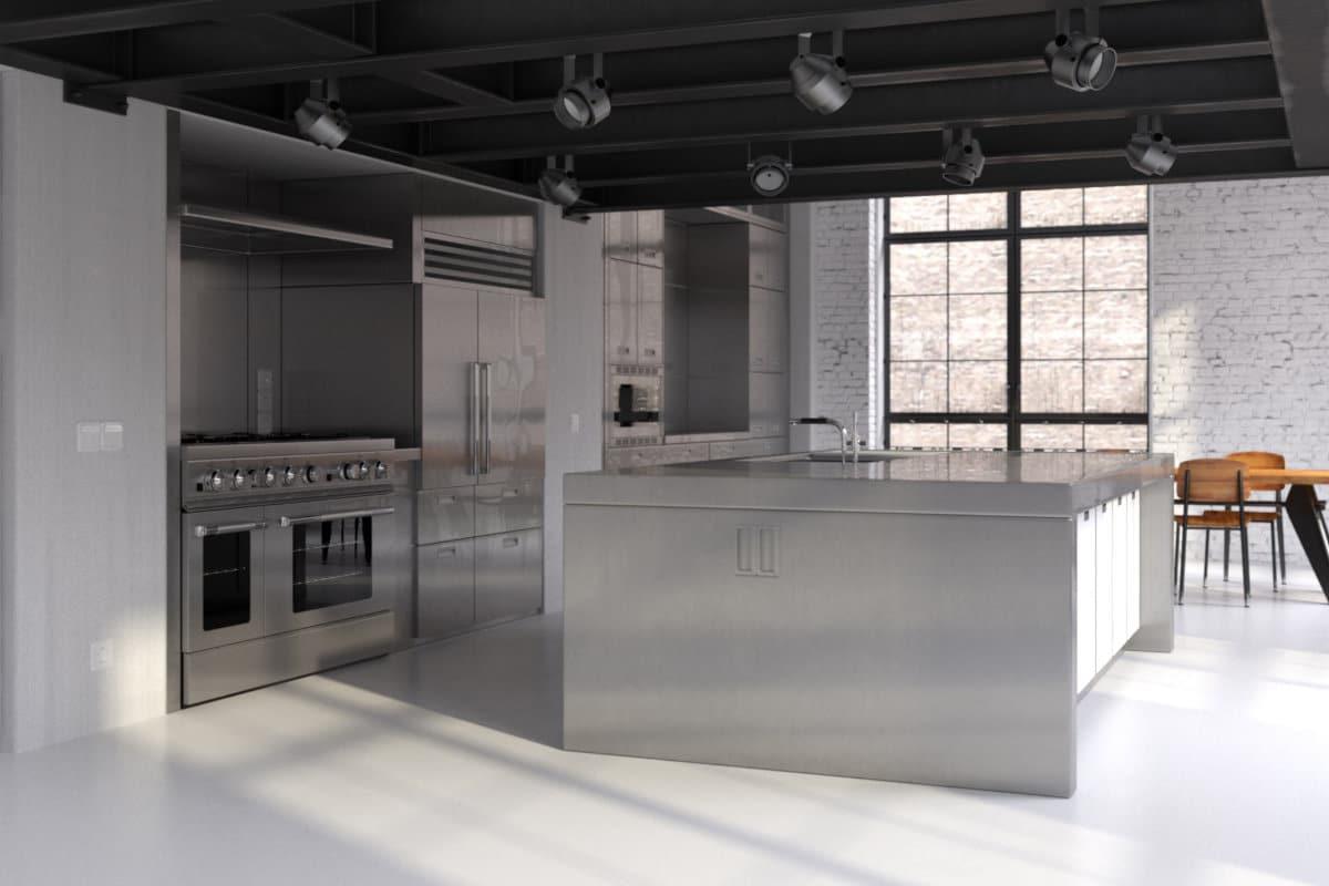 Klein Keuken Industriele : Kleine keuken lampen kleine industriele keuken kleine