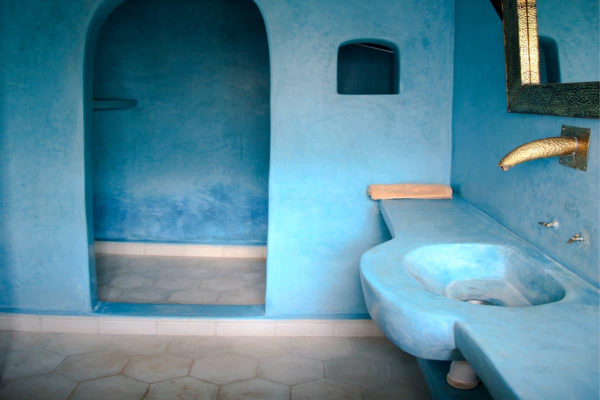 Tadelakt In Badkamer : Op zoek naar tadelakt geschikt voor zowel binnen als buiten