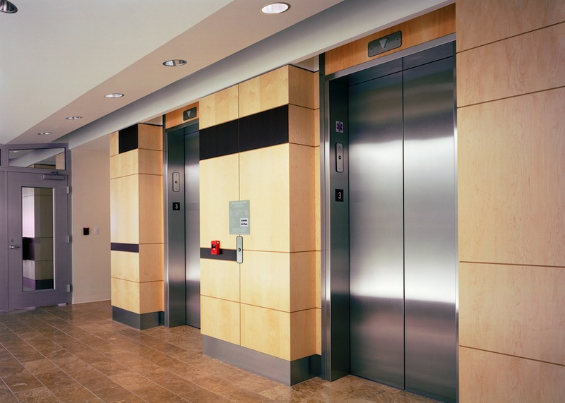 Interior Fire Doors Elevator Smoke Containment - Interior Tech | Seattle