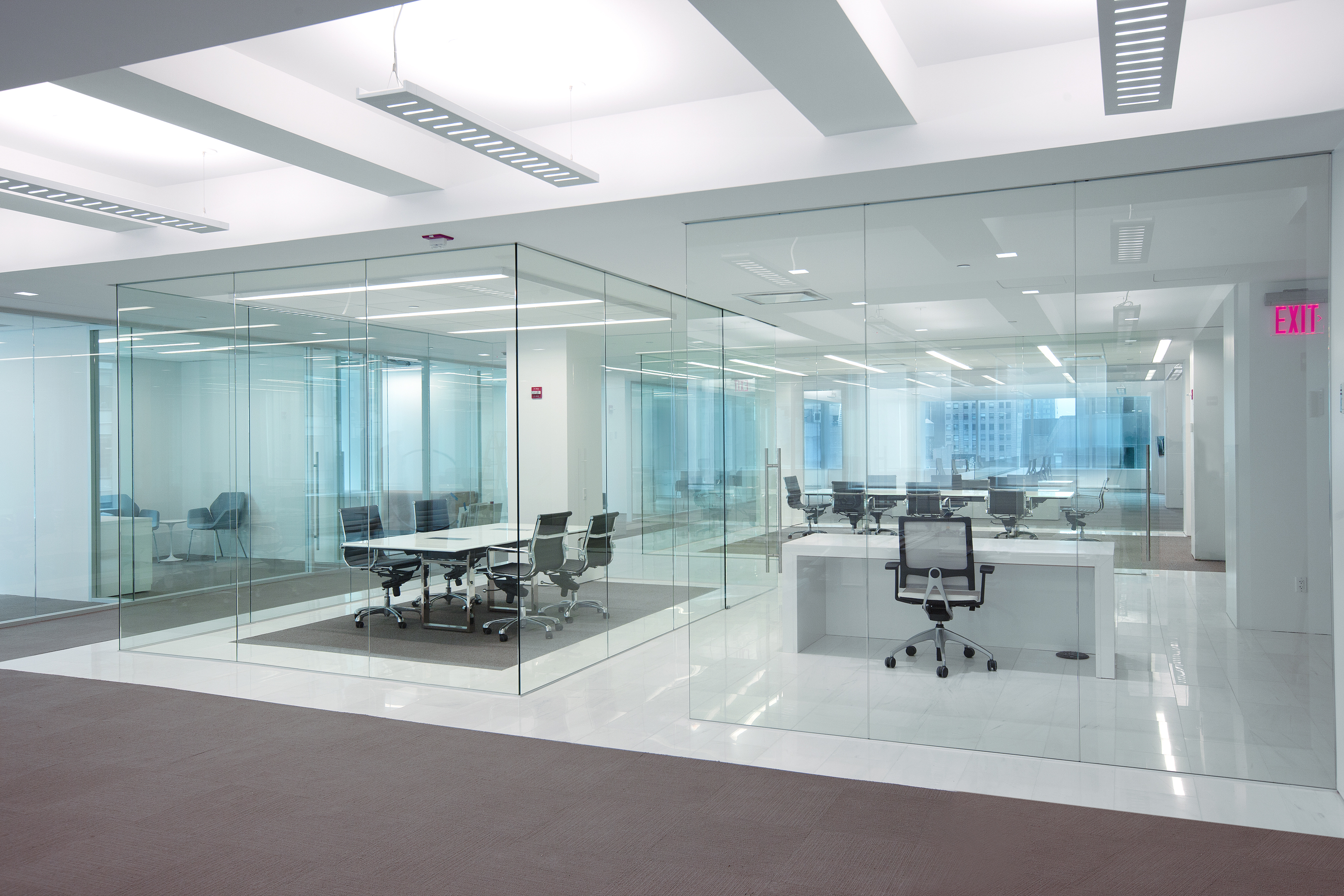 Office Wall Design Interior Glass Partitions Dorma Interior Tech