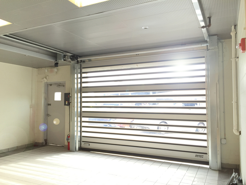 Sectional Rytec Low Headroom Doors - Interior Tech | Seattle | Portland