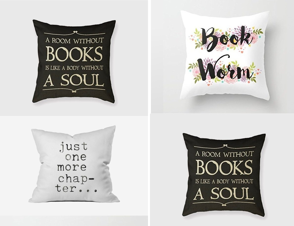 Book Lover Gift Book Related Cushions Gift For Book Lover Id625 Home