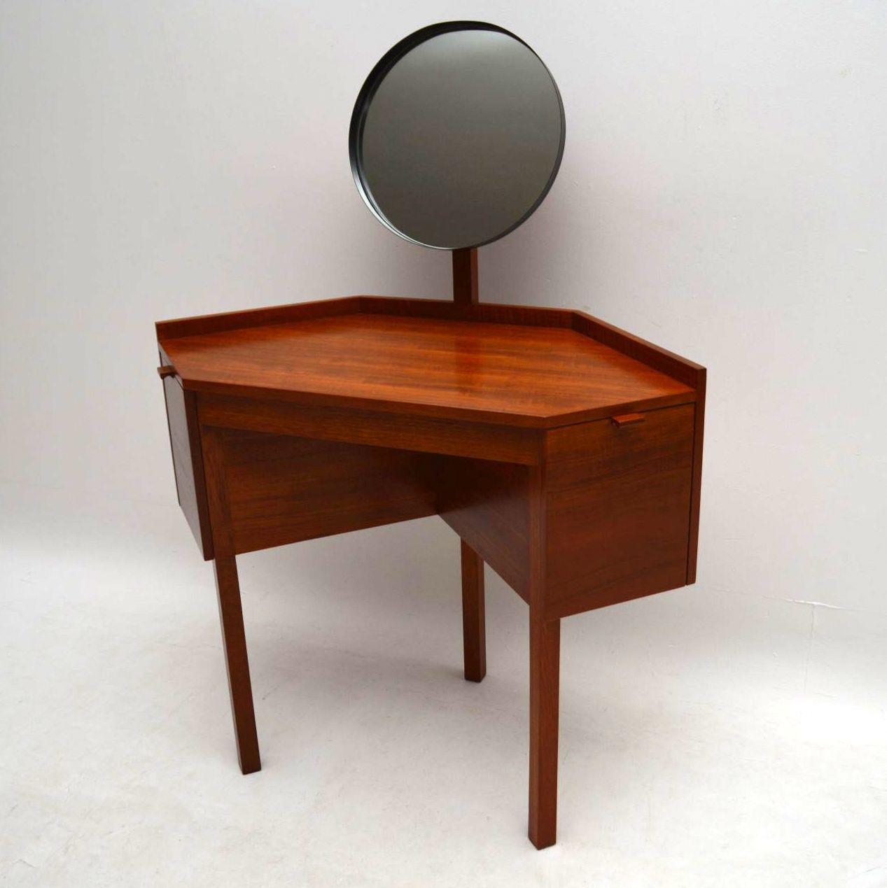 Modern Retro Dressing Table Modern Art Deco Walnut Dressing Table